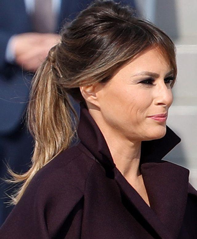 Melania Trump pokazała się w nowych fryzurach - będzie nowa moda? (ZDJĘCIA)