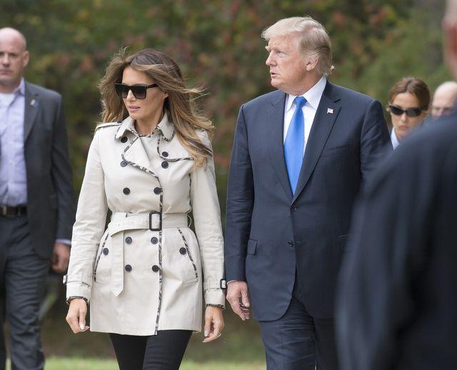 Kobieta, którą widzisz u boku Trumpa to NIE MELANIA! Zatem kto?