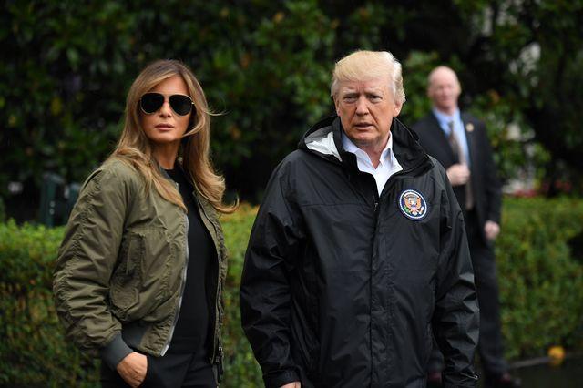 Manolo Blahnik ma teorią na temat stroju Melania Trump podczas wizyty w Texasie