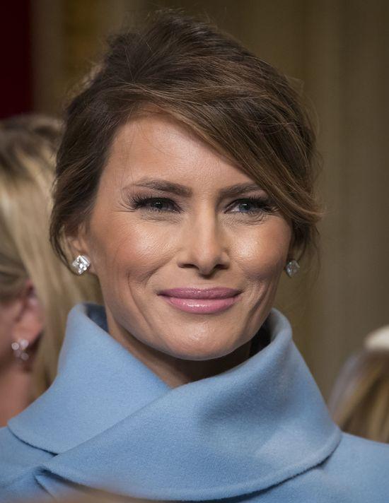 Najpierw etacik w Vogue'u, teraz praca dla Melani Trump