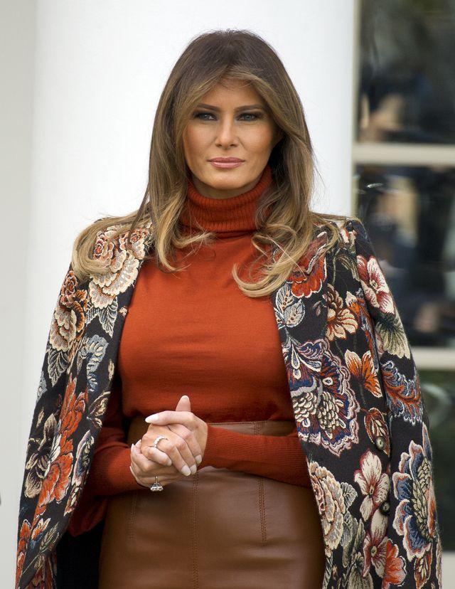 Te zdjęcia Melanii Trump stały się obiektem KPIN internautów