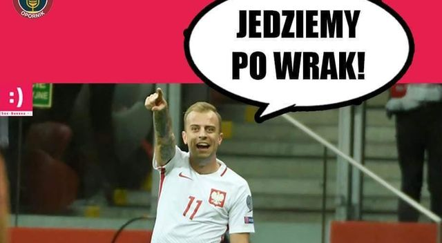 Memy po meczu Polska – Czarnogóra