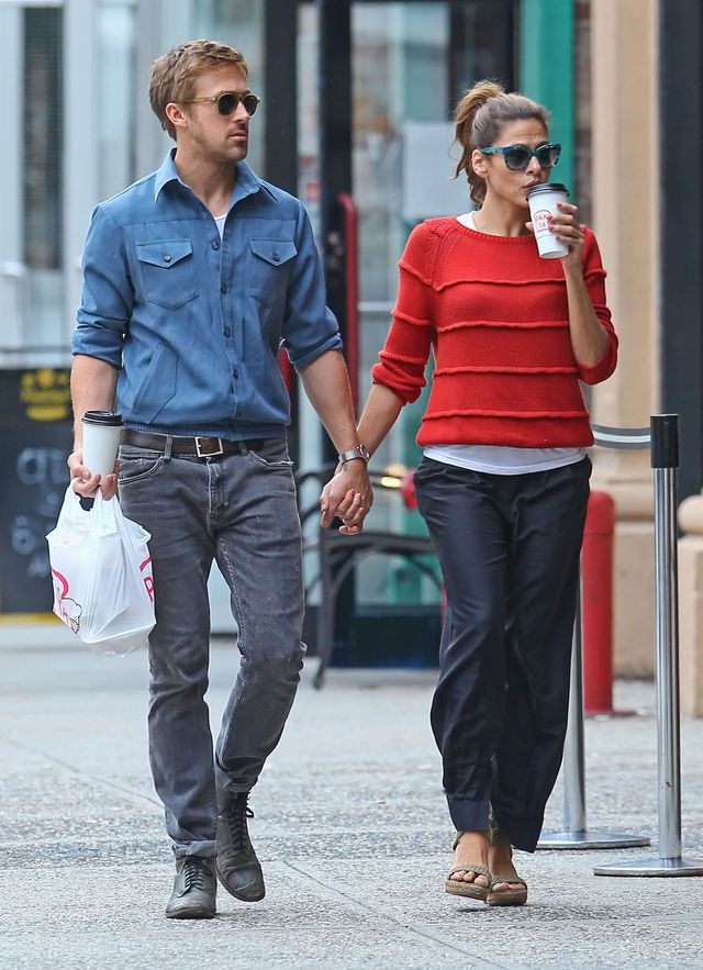 Szczeg�lny dzie� u Ewy Mendes i Ryana Goslinga