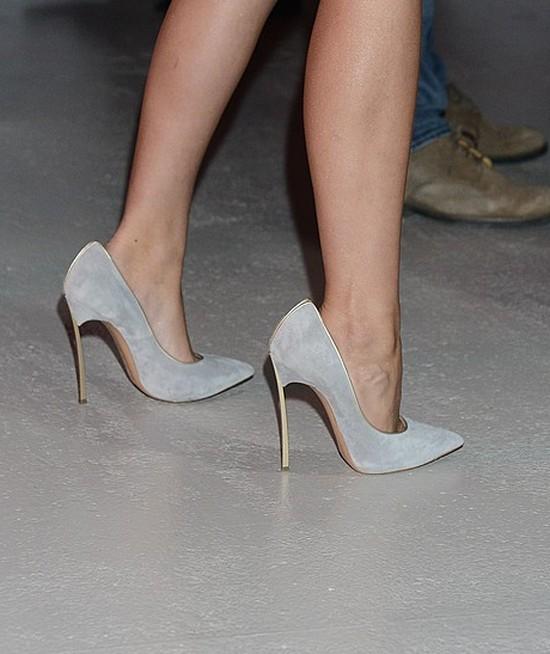 Blogerka modowa za�o�y�a za du�e buty (FOTO)