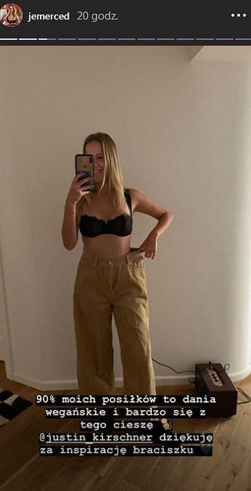 Jessica Mercedes BARDZO schudła w krótkim czasie