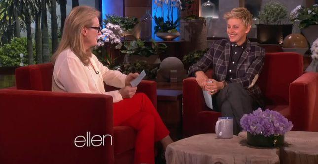 Meryl Streep czyta przepis na owsiankę w wersji sexy [VIDEO]
