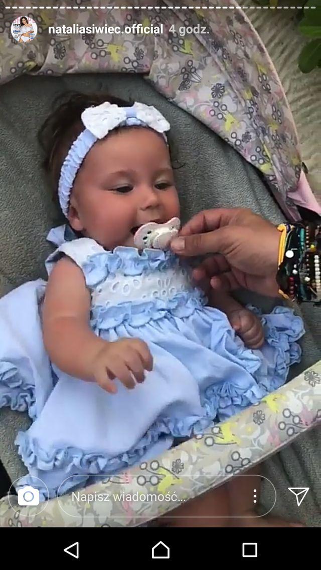 Natalia Siwiec zdradziła, dlaczego pokazała twarz córki