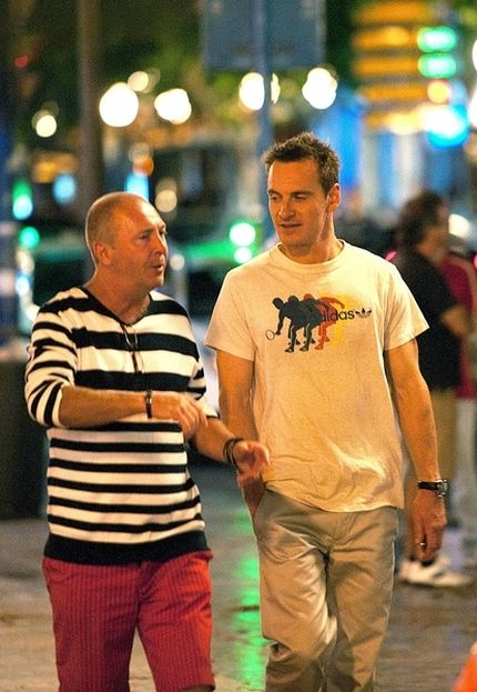Hiszpańskie wakacje Michaela Fassbendera (FOTO)
