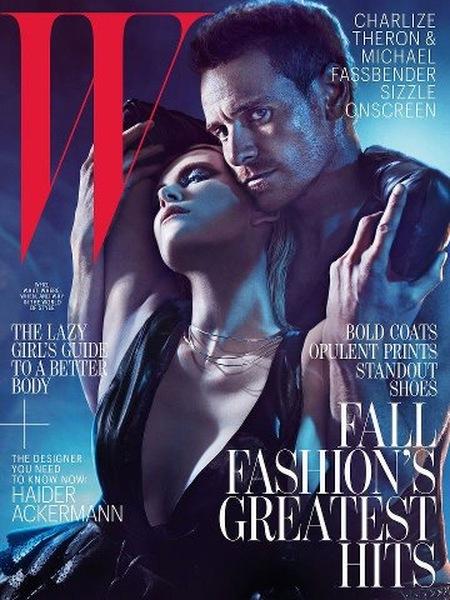 Fassbender i Theron w magazynie W
