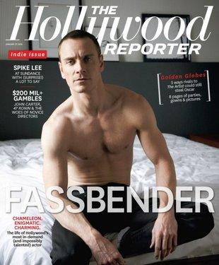 Michael Fassbender bez koszuli na okładce magazynu (FOTO)