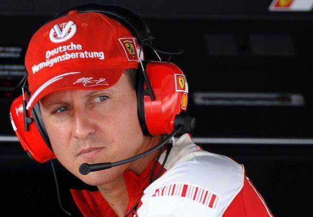 Michael Schumacher reaguje na głos żony!