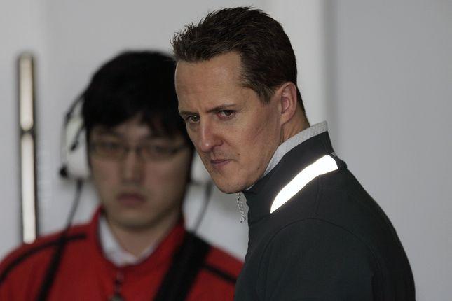 Michael Schumacher nie reaguje na żadne bodźce