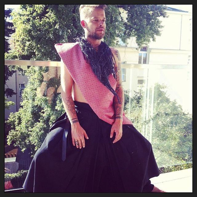 Michał Piróg wziął udział w sesji dla gejowskiego magazynu