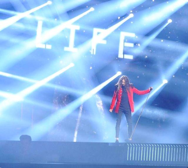 Zdjęcia z próby Michała Szpaka na scenie w Sztokholmie (FOTO)