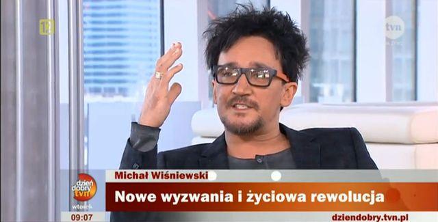 Wiśniewski o samobójstwie, patchworkowej rodzinie i aniele