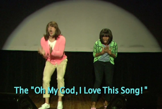 Michelle Obama - ewolucja tańca (VIDEO)