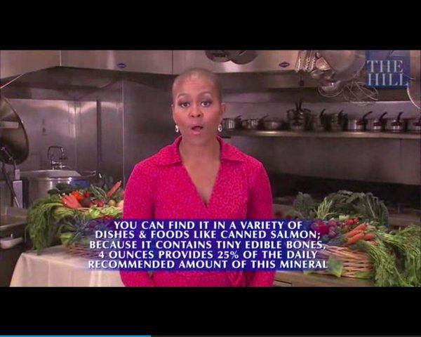 Łysa Pierwsza Dama? Co się stało z Michelle Obamą? [VIDEO]
