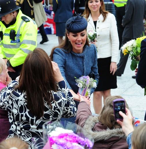 Kate Middleton pojechała na porodówkę?
