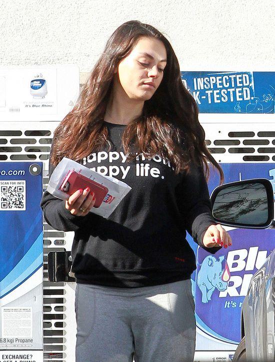 Mila Kunis ma Wam coś ważnego do powiedzenia (ZDJĘCIA)