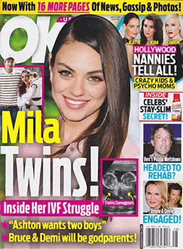Szokuj�ce informacje na temat ci��y Mili Kunis
