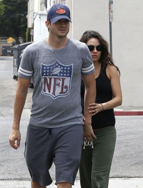 Małżeństwo Mili Kunis i Ashtona Kutchera wisi na włosku!