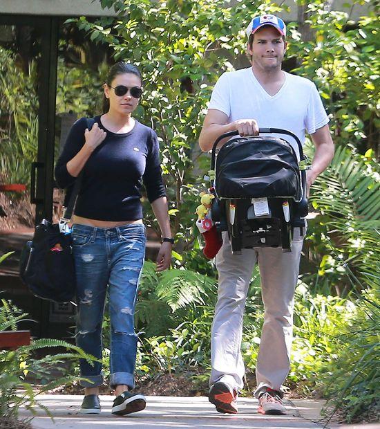 Mila Kunis i Ashton Kutcher OFICJALNIE po ślubie!