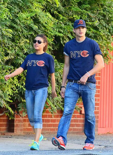 Ashton Kutcher i Mila Kunis to bardzo urocza parka (FOTO)