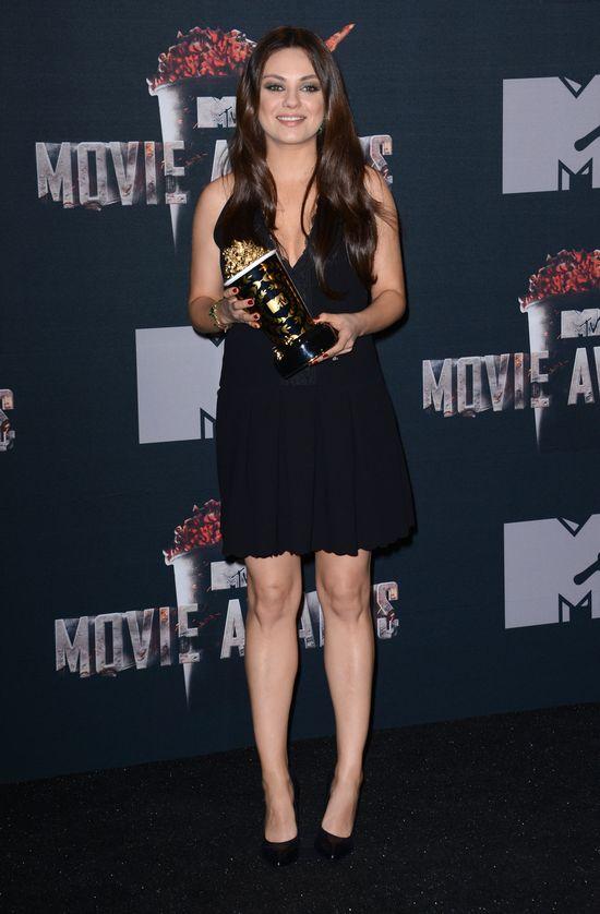 Gwiazdy w ciąży na MTV Movie Awards 2014 (FOTO)