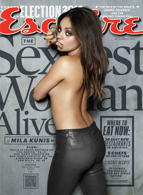 Mila Kunis najseksowniejszą kobietą świata wg Esquire