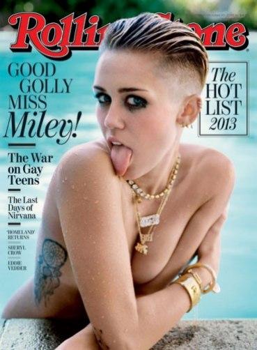 Miley Cyrus: Ważę 49 kg i mam płaski tyłek!