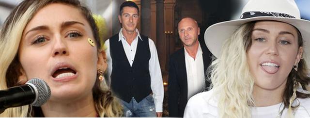 Miley Cyrus skrytykowała Dolce & Gabbana. TAKIEJ odpowiedzi się nie spodziewała!