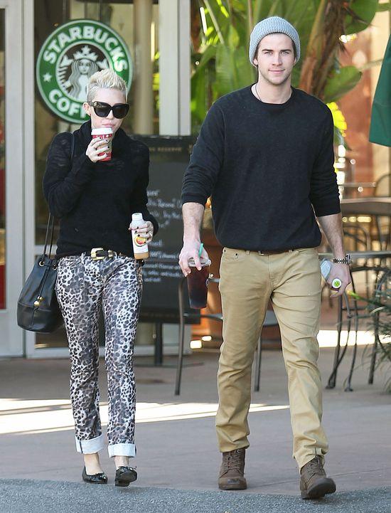Miley Cyrus i Liam Hemsworth - będzie reaktywacja?! (FOTO)