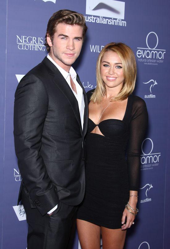 Miley Cyrus ma szalone plany względem Liama Hemswortha