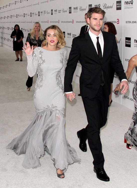Miley Cyrus i Liam Hemsworth WZI�LI �LUB?