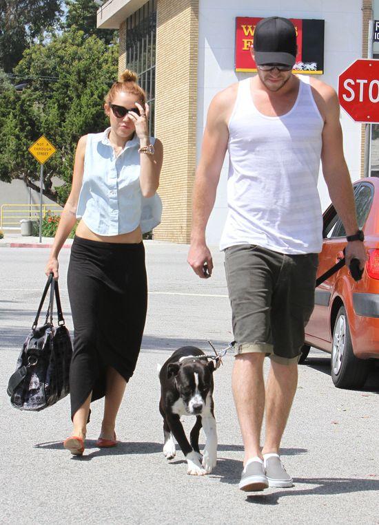 Liam Hemsowrth jest bliski rzucenia Miley Cyrus!