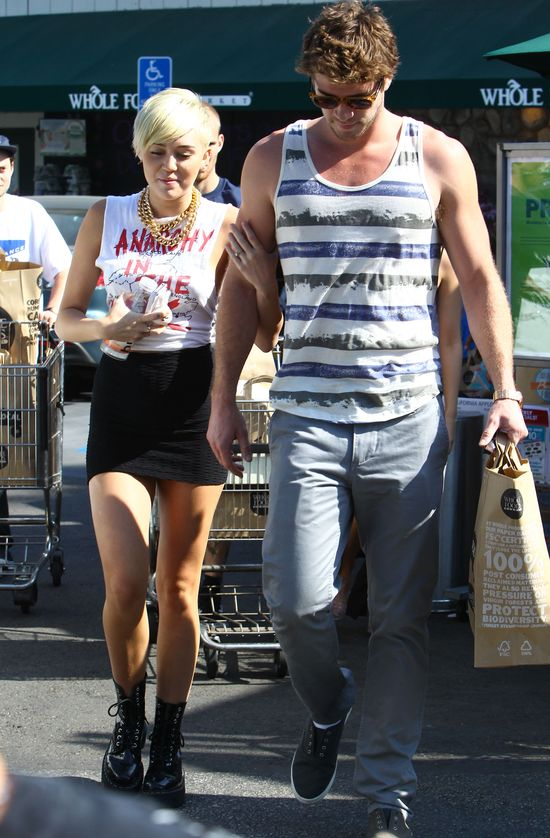 Miley Cyrus już zdradziła Liama Hemswortha?