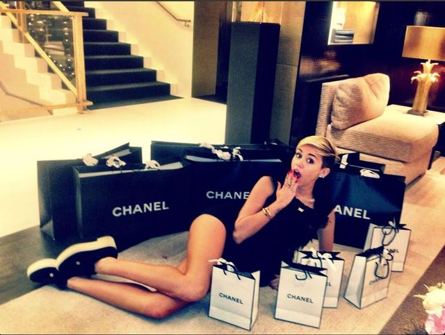 Miley Cyrus jest sp�ukana?