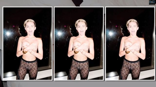 Miley Cyrus ponownie szokuje (FOTO+VIDEO)