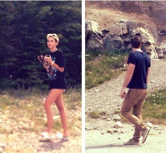 Liam Hemsworth i Miley Cyrus razem w Kanadzie (FOTO)