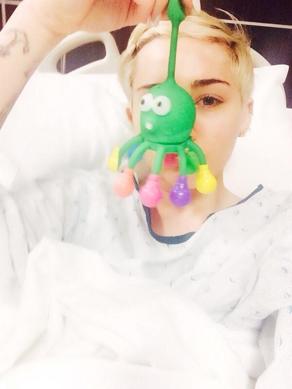 Miley Cyrus wylądowała w szpitalu