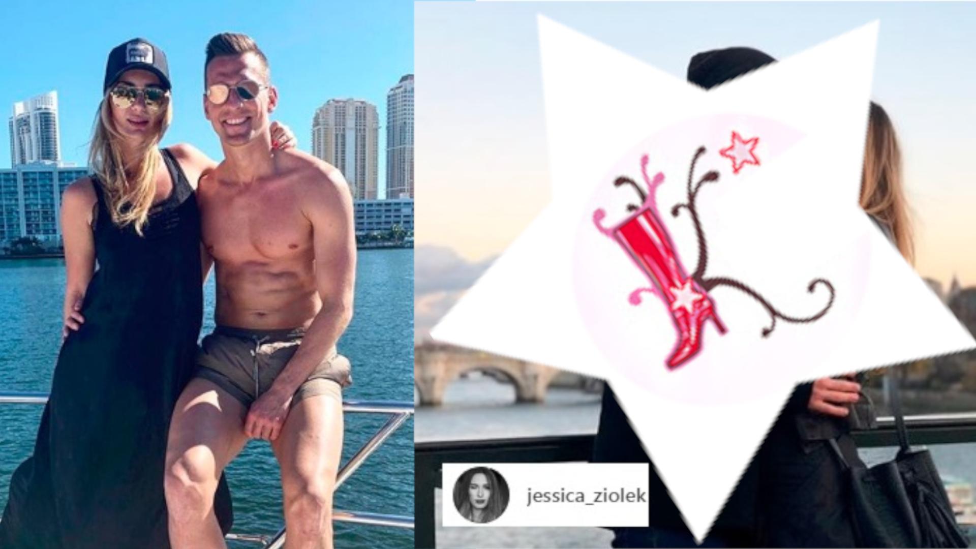 Jessica Ziółek pokazała zdjęcie z Milikiem. Już dawno takiego nie widzieliśmy