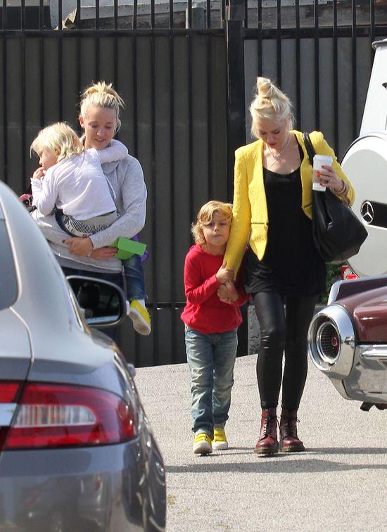 Niania, z którą mąż zdradzał Gwen Stefani, jest W CIĄŻY!