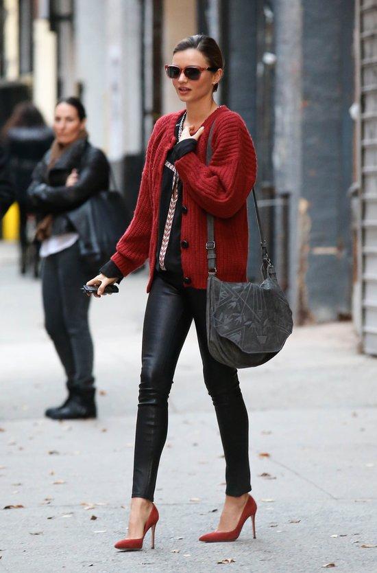 Miranda Kerr zawsze gotowa na spotkanie z paparazzi