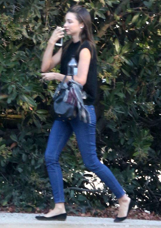 Jak wygl�da Miranda Kerr bez makija�u? (FOTO)