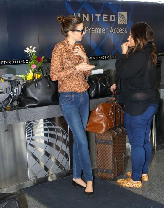 Miranda Kerr i jej rodzina w komplecie (FOTO)