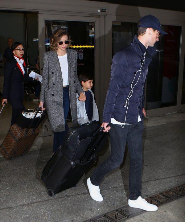 Syn Mirandy Kerr nie podróżuje już z obojgiem rodziców (FOTO)