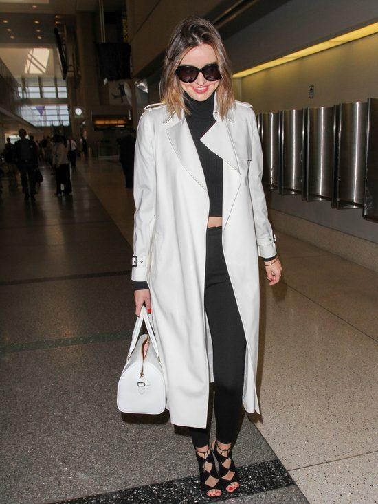 Miranda Kerr pokazuje, jak podróżować z klasą (FOTO)