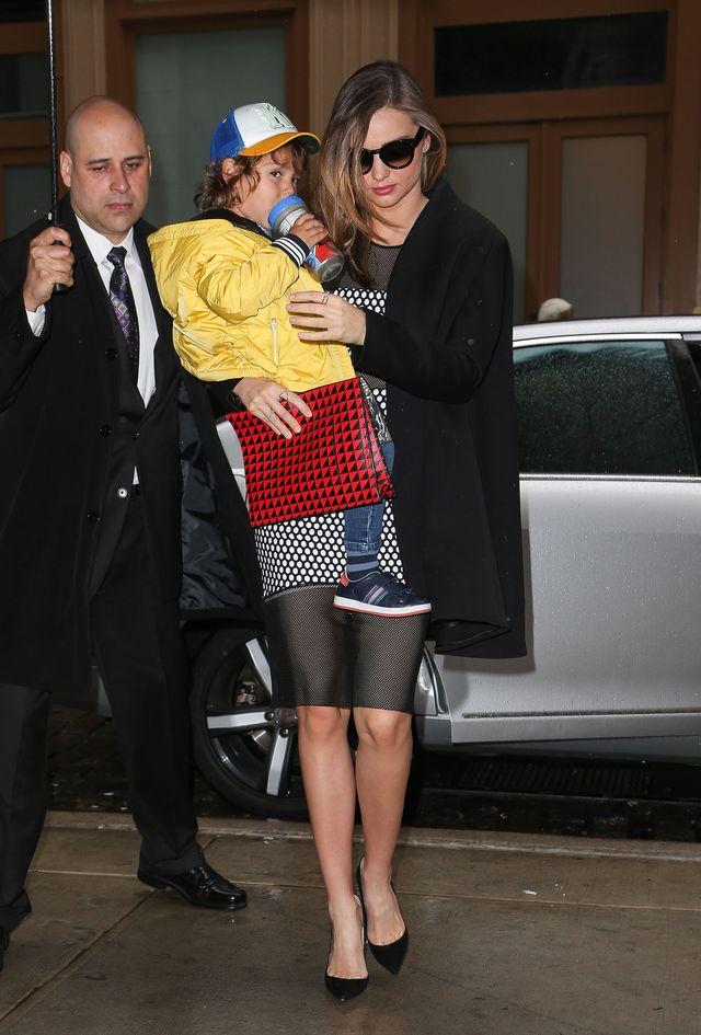 3-letni Flynn z mamą Mirandą Kerr w Vogue (FOTO)
