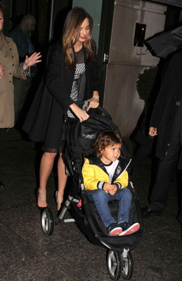 3-letni Flynn z mam� Mirand� Kerr w Vogue (FOTO)