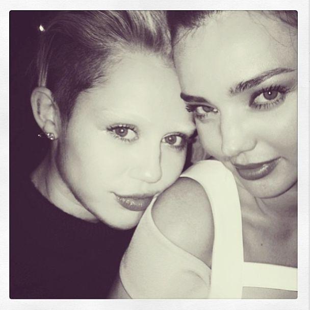 Miley Cyrus i Miranda Kerr - nowe przyjaciółki (FOTO)
